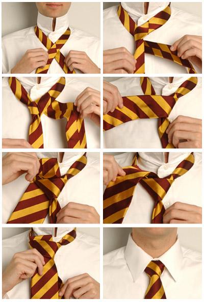 Как завязать галстук:
